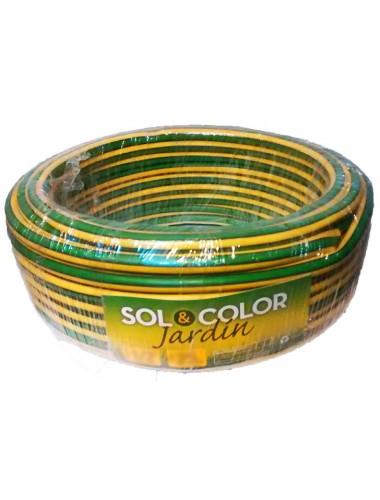 Manguera De Riego Sol y Color 3/4 X 15 Mts.