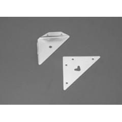 Soporte para alacenas - Acero 1.25 mm - Ángulo - Por empaque (empaque 12)
