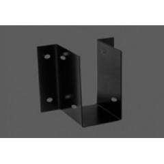 """Caja de fijación aleta exterior con agujero lateral - Acero 1.40 mm - 2"""" x 4"""" - Por unidad (empaque 10 u.)"""