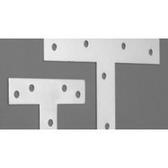"""Escuadra """"T"""" - Acero 1.80 mm - 120 x 73 mm - Por empaque (empaque 24 u.)"""