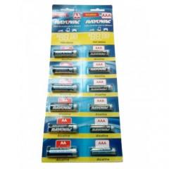 Combo Pilas AA Alcalina Rayovac Precio Por Pack 12 Pilas