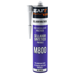 SELLADOR ZAFFIX 310ml SINTETICO MULTIUSO PINTABLE M800 - BLANCO