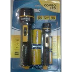COMBO LINTERNAS RAYOVAC - 2 linternas c/ 4 pilas incluídas