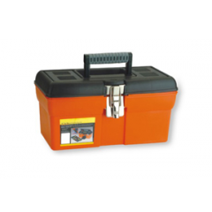 "ZEEX Caja de herramientas Profesional 13"" Naranja"