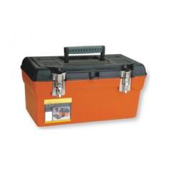 "ZEEX Caja de herramientas Profesional 16.5"" Naranja"