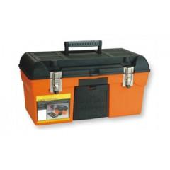 "ZEEX Caja de herramientas Profesional 19"" Naranja"