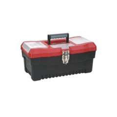 "ZEEX Caja de herramientas Uso Profesional 16""  Bordó"