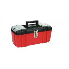 "ZEEX Caja de herramientas Uso Industrial 16.5""  Roja"