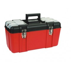"Caja de herramientas Zeex Uso Industrial 19.5""  Roja"