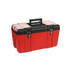 "ZEEX Caja de herramientas Uso Industrial 23.5""  Roja"