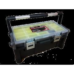 """ZEEX Caja de herramientas Gavetero 22.5""""  GRIS"""